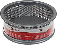 """Підставка для скріпок """"Optima"""" №O36303-10 стакан круг.,метал.,срібна(24)"""
