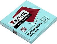 "Блок/заст. липк. куля 75х75мм 100арк. сін. ""Axent"" №2314-04(12), фото 1"