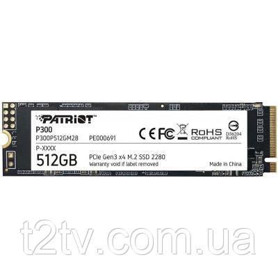 Накопитель SSD M.2 2280 512GB Patriot (P300P512GM28)