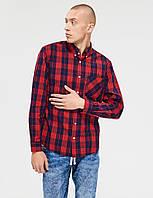 Рубашка красная в клетку REDDY LG  Diverse