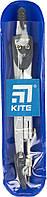 """Циркуль """"Kite"""" 125мм,сірий, в чохлі PVC №K18-382-03/0001(10)(50), фото 1"""