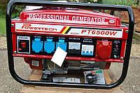 Генератор бензиновый Powertech Germany PT6500WE 4.5 Kw, фото 1