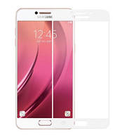 Защитное стекло  Full Glue 3D White для Samsung Galaxy J5 2016 J510 белое