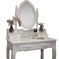 Туалетный столик с зеркалом и подсветкой JUSKYS Mirka, фото 1