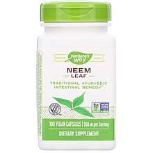 """Листья нима Nature's Way """"Neem Leaf"""" для очищения организма, 950 мг (100 капсул)"""