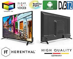 """Телевизор Herenthal led smart tv 43"""""""