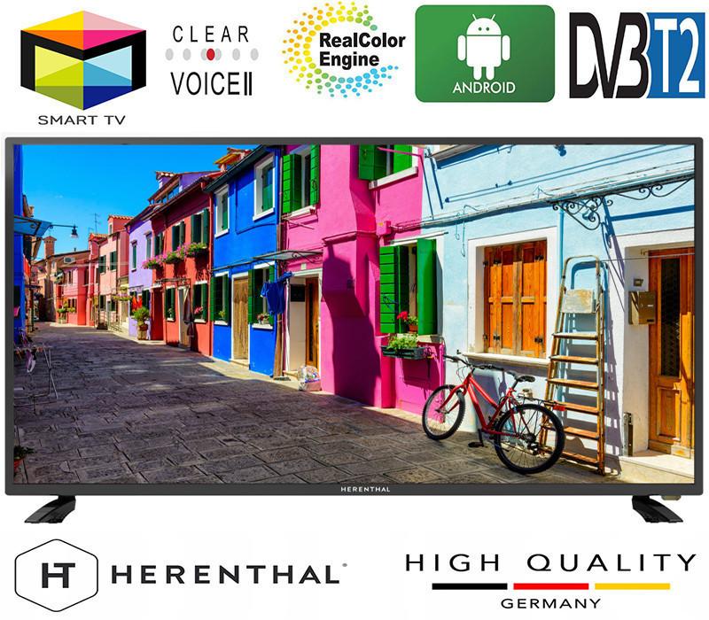 """Телевизор Herenthal led smart tv 50"""""""