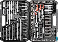 Набор инструмента для ремонта авто с насадками 128 шт. Yato YT-38872