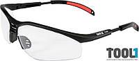 Защитные очки открытые прозрачные Yato YT-7363