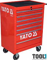 Инструментальная тележка с 7 ящиками Yato YT-0914