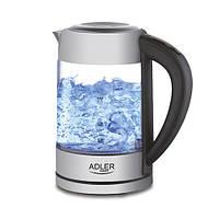 Электрочайник  с контролем температуры Adler AD 1247 NEW 1,7 литр, фото 1