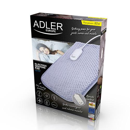 Электрическая подушка Adler AD 7415, мощность 80вт, 30 х 40 см
