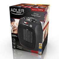 Керамический тепловентилятор Adler AD 7702 напольный, бытовой мощность 750-1500вт, фото 1