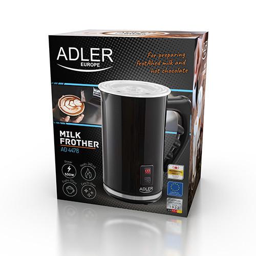 Вспениватель молока с подогревом Adler AD 4478