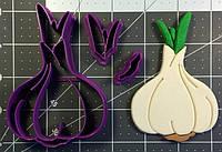 3D формочка для печенья - Чеснок | Вырубка для печенья на заказ