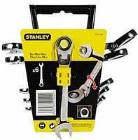 Набор ключей комбинированных с трещоткой Stanley MaxiDrive Plus 6 шт.