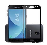 Защитное стекло Full Glue 3D Black для Samsung Galaxy J7 (2016) Duos J710F черное
