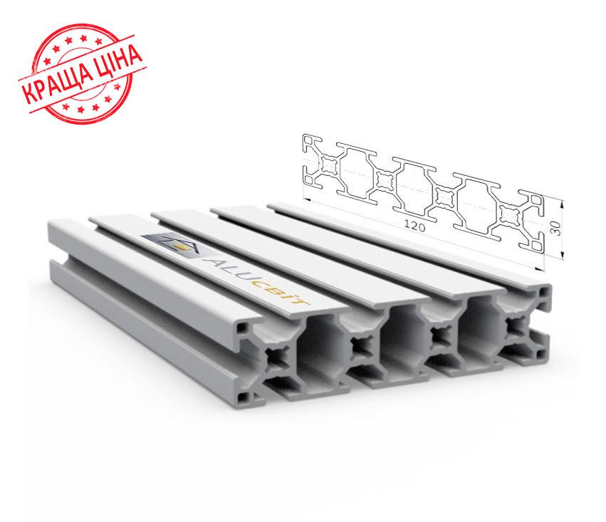 Алюминиевый конструкционный станочный 120х30 анодированный