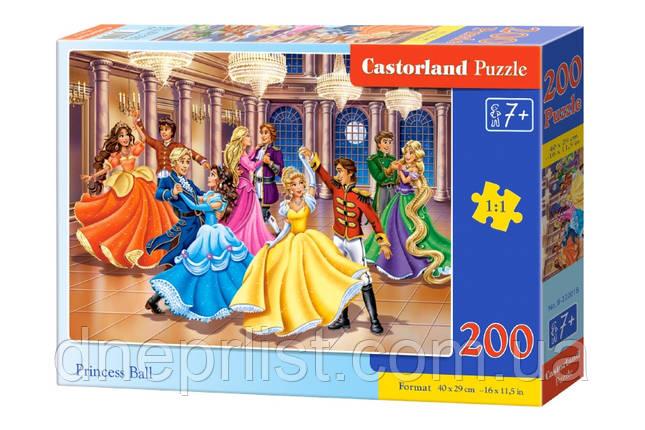 """Пазл 200 эл. """"Castorland"""" (Польша) / Бал принцесс, фото 2"""