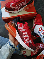 Кроссовки мужские Nike Air 270 Supreme красные, фото 1