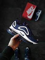 Мужские кроссовки  Nike Air Max 720 Синие, фото 1