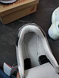 Кросівки жіночі New Balance 574 Сірі з синім, фото 9