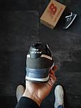 Кроссовки женские New Balance 574  Серые с синим, фото 3