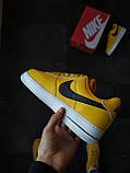 Кроссовки мужские Nike Air Force 1 Желтые, фото 3