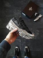 Кроссовки Adidas Raf Simons Metallic Черные, фото 1