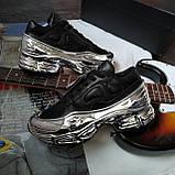 Кросівки Adidas Raf Simons Metallic Чорні, фото 2