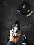 Кросівки Adidas Raf Simons Metallic Чорні, фото 3