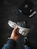 Кросівки Adidas Raf Simons Metallic Чорні, фото 4