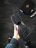 Кросівки Adidas Raf Simons Metallic Чорні, фото 5