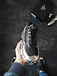 Кросівки Adidas Raf Simons Metallic Чорні, фото 6
