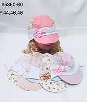 Стильна дитяча панамка на дівчинку р. 44,46,48