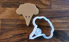 3D формочка для печива - Брокколі | Вирубка для печива на замовлення