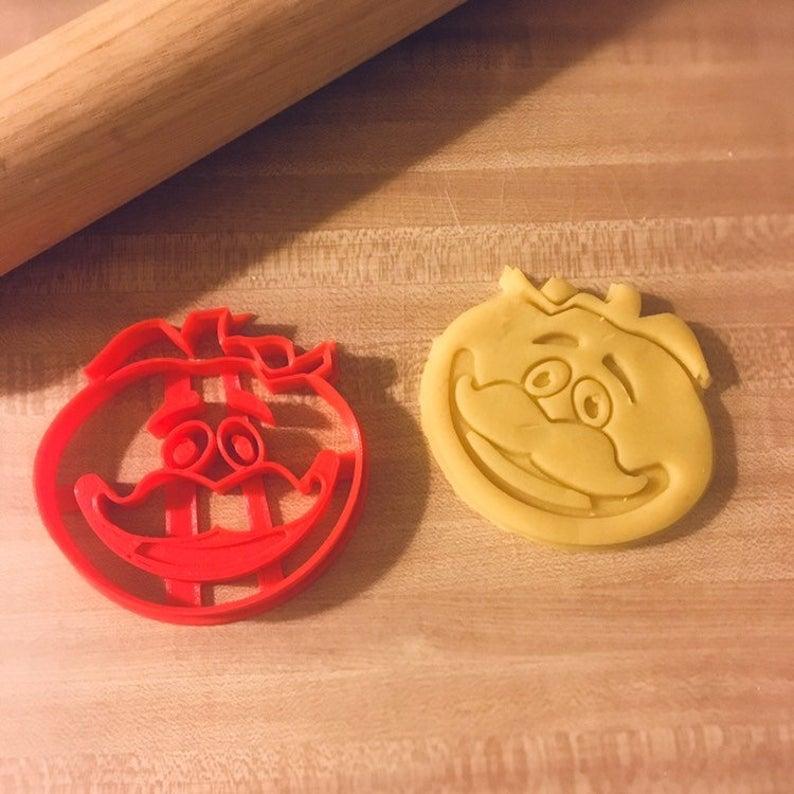 3D формочка для печива - Помідор з Fortnite   Вирубка для печива на замовлення