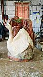 Скульптури з дерева. Ваза, Подвазоник 1.2 м. Дизайнерська Ручна Робота з Дуба на замовлення., фото 2
