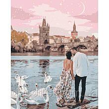 """Картина по номерам """"Прогулка по Праге"""", 40х50 см, 4*"""