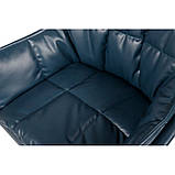 Кресло поворотное PALMA (Пальма) синее, фото 4