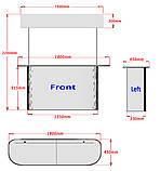 Промо стол с топером 180 см, фото 5