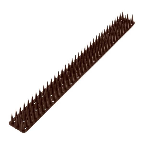 Шипы от птиц и животных 50*3 см, коричневый