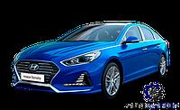 Усилитель (шина) переднего бампера Hyundai Sonata 2017-