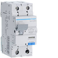 Дифференциальный автоматический выключатель 1P+N 6kA B-40A 30mA A