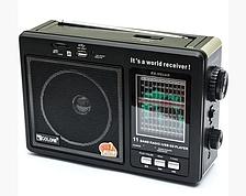 Радіоприймач Golon RX 99 UAR портативна колонка USB / SD / MP3 / FM (3920)
