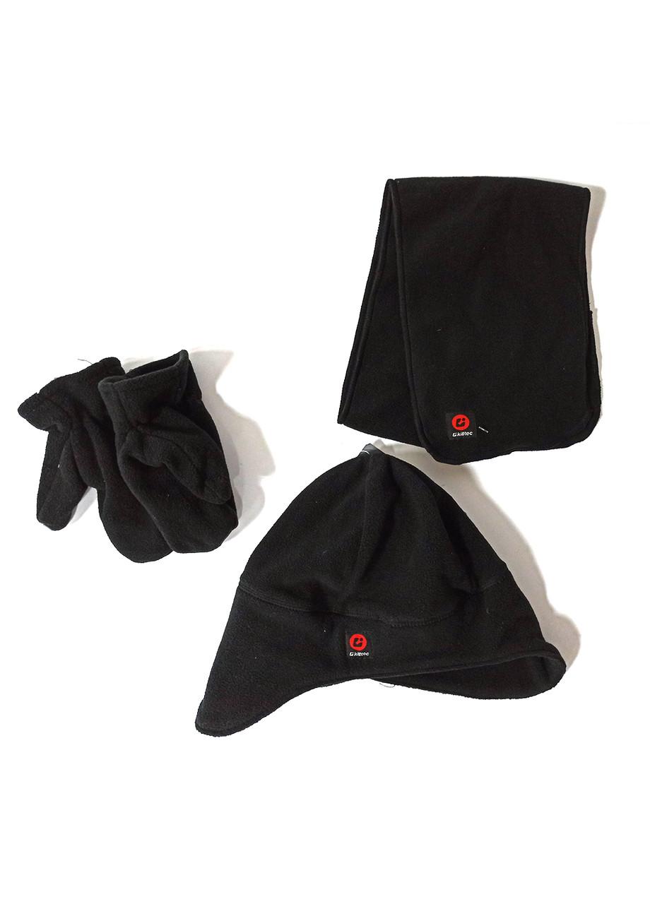 Комплект (шапка + варижки + шарф) Killtec 4года Черный