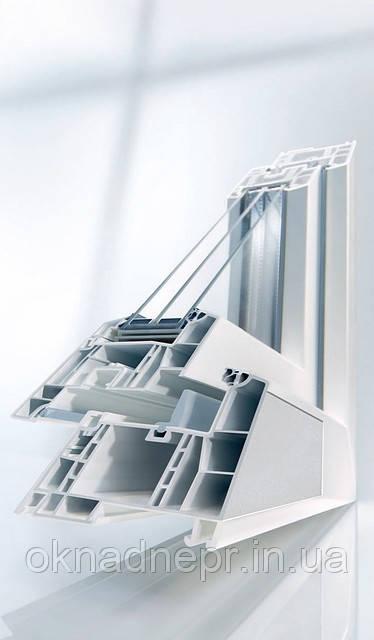 Металлопластиковые окна Rehau Geneo (Рехау Генео)