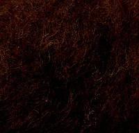 Новозеландский кардочёс для валяния, (2013) коричневый темный