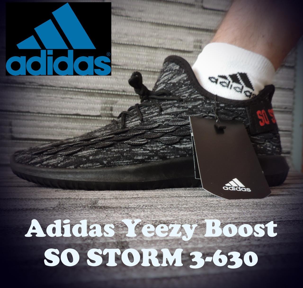Кроссовки  Adidas Yeezy Boost So Storm 3-630.