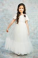 Платье с кружевным лифом для девочки (128 см.)  Miss Lucia 2125000651910